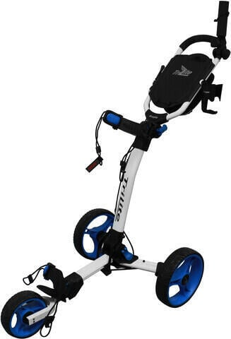 Axglo TriLite White/Blue Golf Trolley