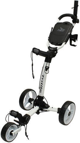 Axglo TriLite White/White Golf Trolley