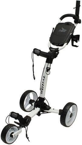 Axglo TriLite White/White Golf Trolley