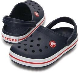 Crocs Kids' Crocband Clog Navy/Red 38-39