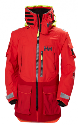Helly Hansen Aegir Ocean Jacket - Red - XL