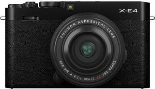 Fujifilm X-E4 + XF27mm F2,8 Negru