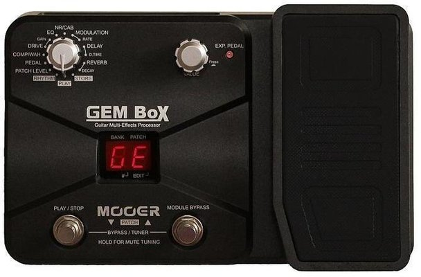 MOOER GEM Box Guitar Multi FX Processor with Pedal