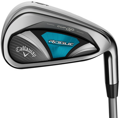 Callaway Rogue OS Irons 5-SW Graphite Ladies Right Hand