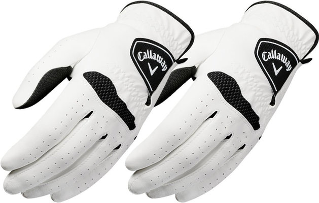 Callaway Xtreme 365 Mens Golf Gloves (2 Pack) White RH L