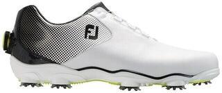Footjoy DNA Helix BOA Mens Golf Shoes White/Black