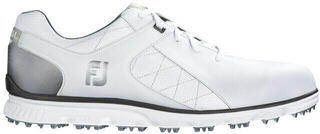 Footjoy Pro SL Mens Golf Shoes White/Silver