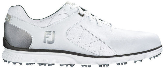 Footjoy Pro SL Mens Golf Shoes White/Silver US 8,5