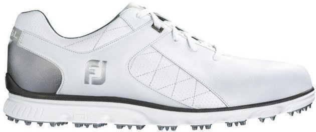 Footjoy Pro SL Mens Golf Shoes White/Silver US 11