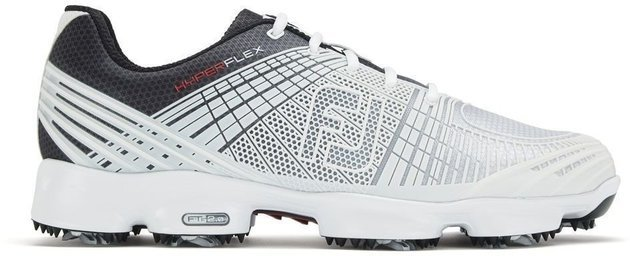 Footjoy Hyperflex II Mens Golf Shoes White/Black US 9