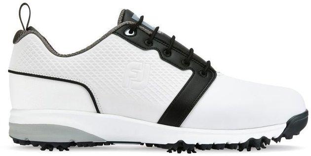 Footjoy Contour Fit Mens Golf Shoes White/White/Black US 8,5