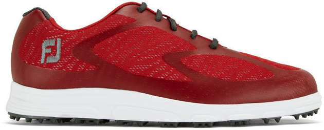 Footjoy Superlites XP Mens Golf Shoes Red/Charcoal US 13
