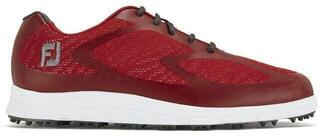 Footjoy Superlites XP Mens Golf Shoes Red/Charcoal