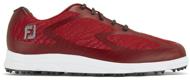 Footjoy Superlites XP Mens Golf Shoes Red/Charcoal US 11