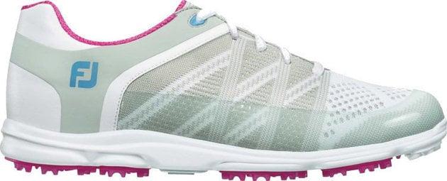 Footjoy Sport SL Womens Golf Shoes Light Grey/Berry US 6