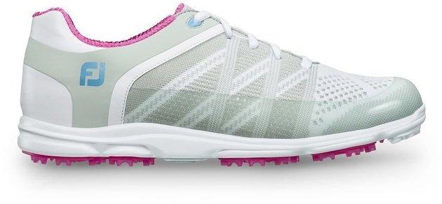 Footjoy Sport SL Womens Golf Shoes Light Grey/Berry US 7,5