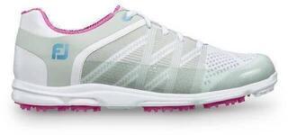 Footjoy Sport SL Damen Golfschuhe Light Grey/Berry