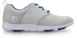 Footjoy Enjoy Womens Golf Shoes Light Grey/Blue
