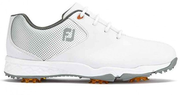 Footjoy DNA Junior Golf Shoes White/Silver US 3