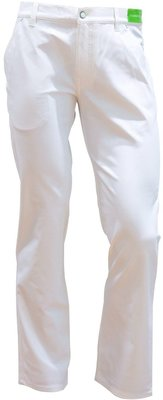 Alberto Pro 3xDRY Cooler Mens Trousers White 102