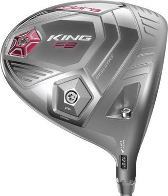Cobra King F8 Driver Silver Ladies Right Hand