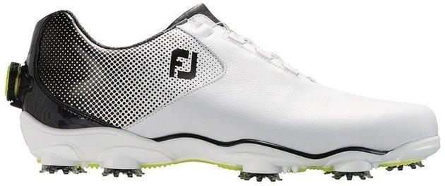 Footjoy DNA Helix BOA Mens Golf Shoes White/Black US 12