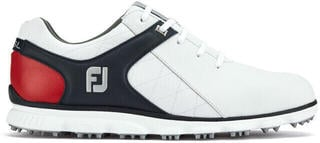 Footjoy Pro SL BOA Mens Golf Shoes White/Black/Red