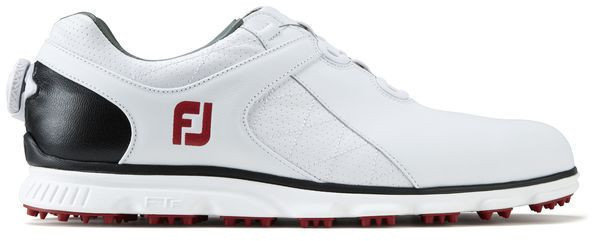 Footjoy Pro SL BOA Mens Golf Shoes White/Black/Red US 9,5