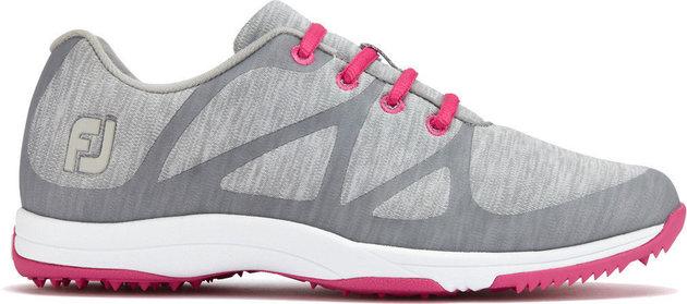 Footjoy Leisure Womens Golf Shoes Light Grey US 6,5