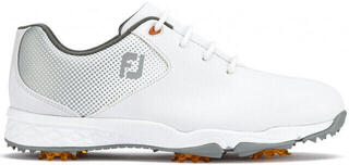 Footjoy DNA Junior Golf Shoes White/Silver US 6