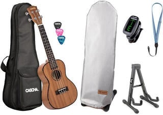 Cascha HH 2035 Premium Koncertné ukulele Natural