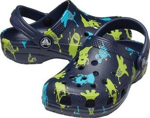Crocs Kids' Classic Monster Print Clog