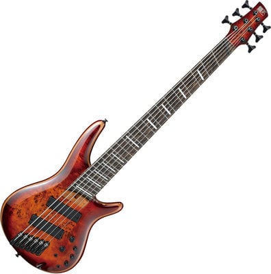 Ibanez SRMS806 Brown Topaz Burst