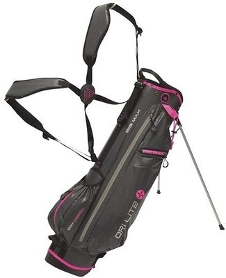 Big max Dri Lite 7 Charcoal/Fuchsia Stand Bag