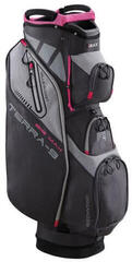 Big Max Terra 9 Charcoal/Fuchsia Cart Bag