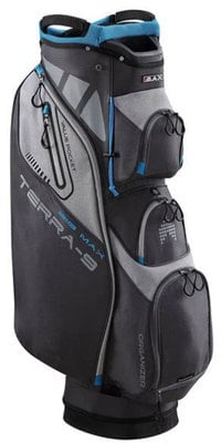 Big Max Terra 9 Charcoal/Silver/Cobalt Cart Bag