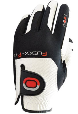 Zoom Gloves Weather White-Black-Red