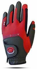 Zoom Gloves Weather Womens Golf Glove Charcoal/Red Left Hand for Right Handed Golfers