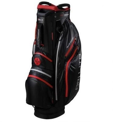 Big Max Dri Lite Active Black/Red Cart Bag