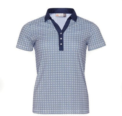 Kjus Women Sue Polo S/S Blue White 38