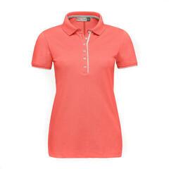 Kjus Women Sanna Polo S/S Hot Coral 36