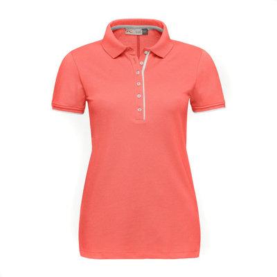 Kjus Women Sanna Polo S/S Hot Coral 38