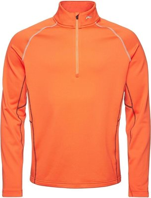 Kjus Diamond Fleece Mens Sweater Orange 52