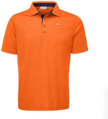 Kjus Men Silas Polo S/S K.Orange Atl.Blue 54