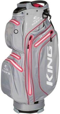 Cobra King Ultradry Quarry/Raspberry Cart Bag