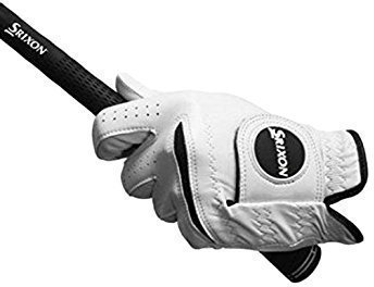 Srixon Premium Cabretta Womens Golf Glove White Left Hand for Right Handed Golfers M