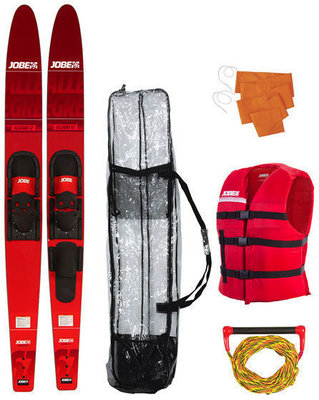 Jobe Allegre 67'' Combo Waterskis Package Red - sada vodných lyží