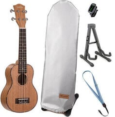 Cascha HH 2024 Premium Sopránové ukulele Natural