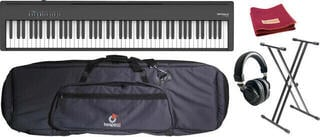Roland FP 30X BK SET Cyfrowe stage pianino