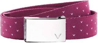 Callaway Print Reversible Womens Belt Raspberry Sorbet